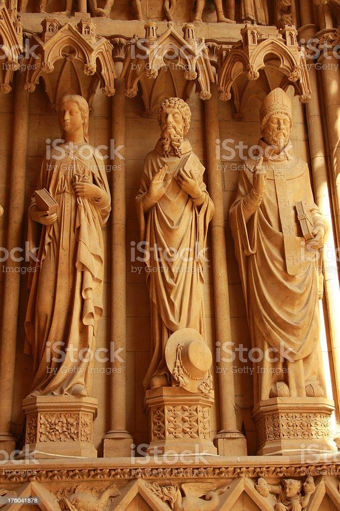 three saints stock photo