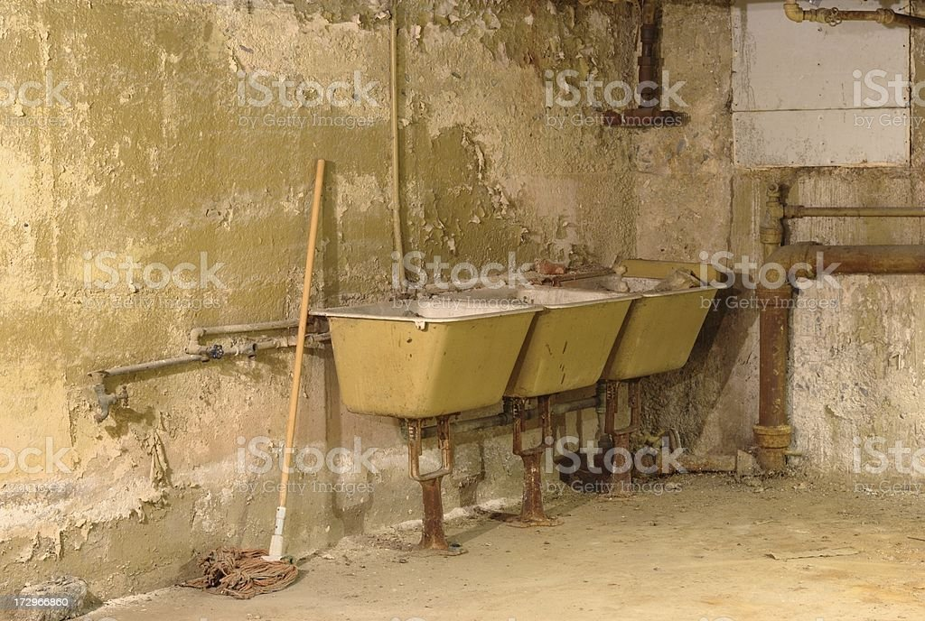 Three Sinks royalty-free stock photo