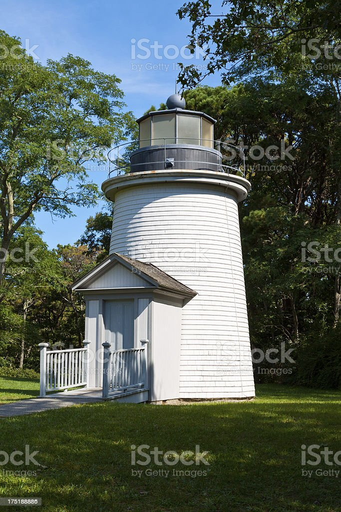 Three Sisters Lighthouses, Cape Cod, Ma stock photo