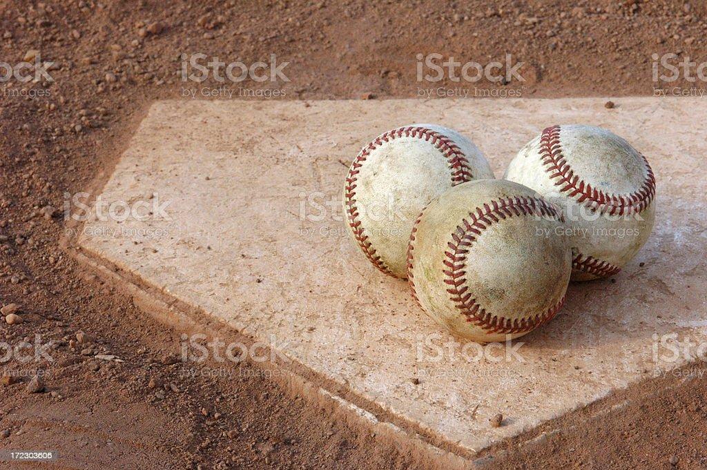 Three Strikes stock photo