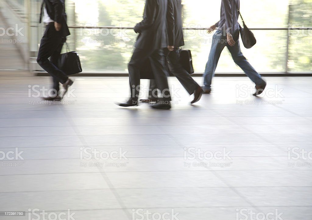 Three suits and one other royalty-free stock photo