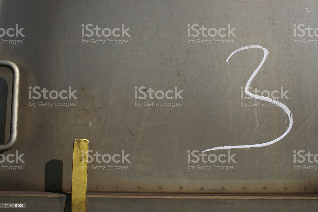 Three The Number royalty-free stock photo
