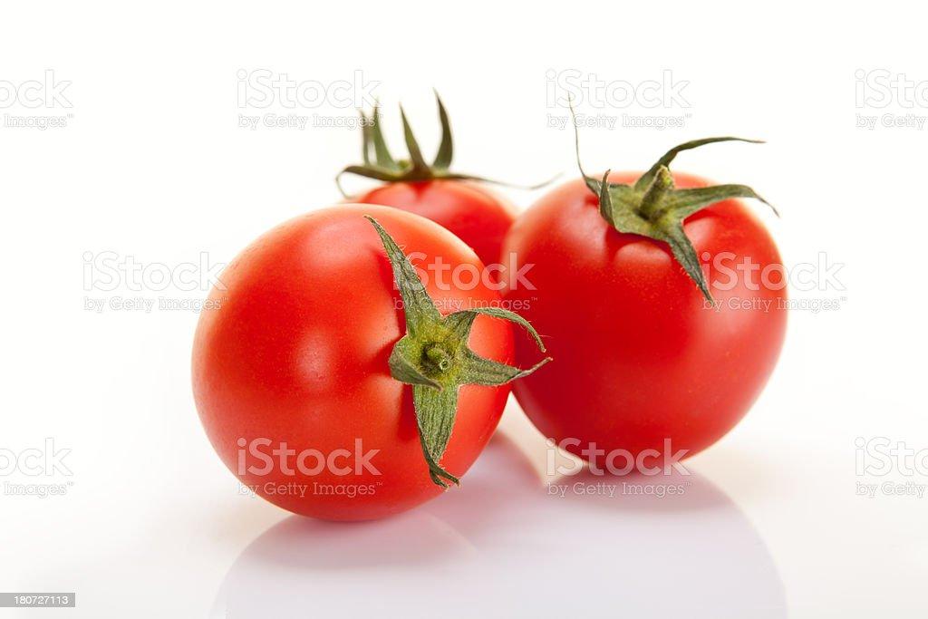 Three Tomato royalty-free stock photo
