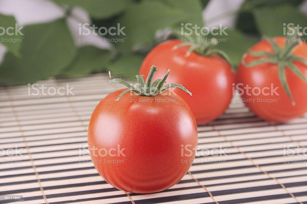 Trzy Pomidory zbiór zdjęć royalty-free