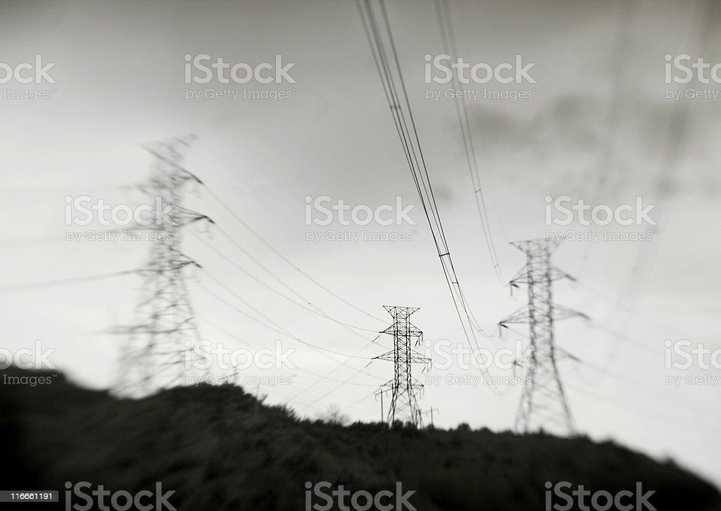 Three Towers stock photo