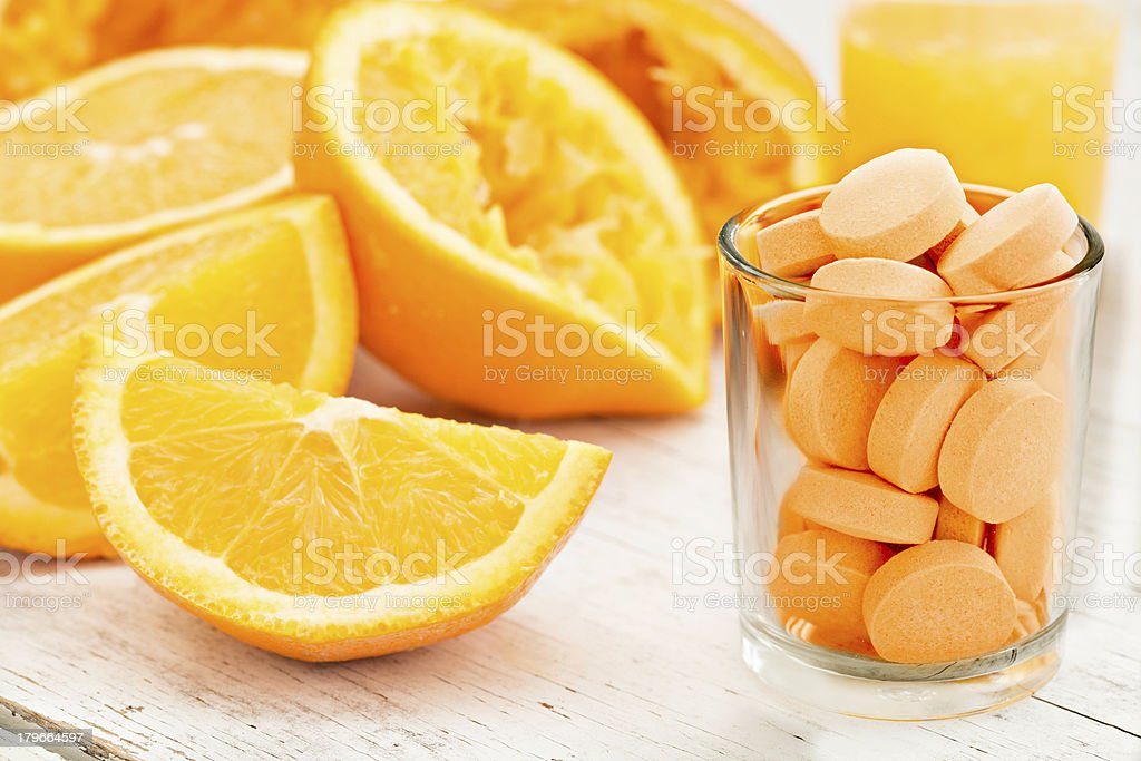 Three Ways To Get Your Vitamin C stock photo