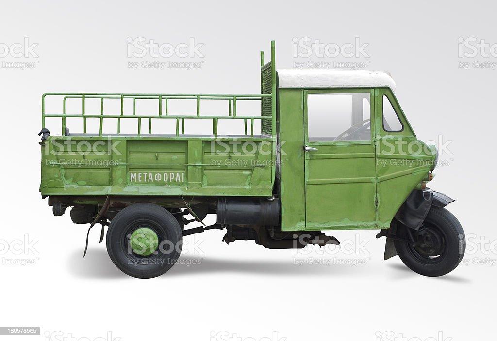 three wheels vehicle royalty-free stock photo