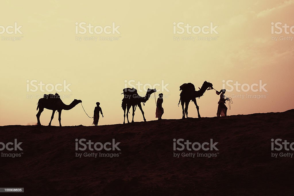 Three wise men Christmas Story royalty-free stock photo