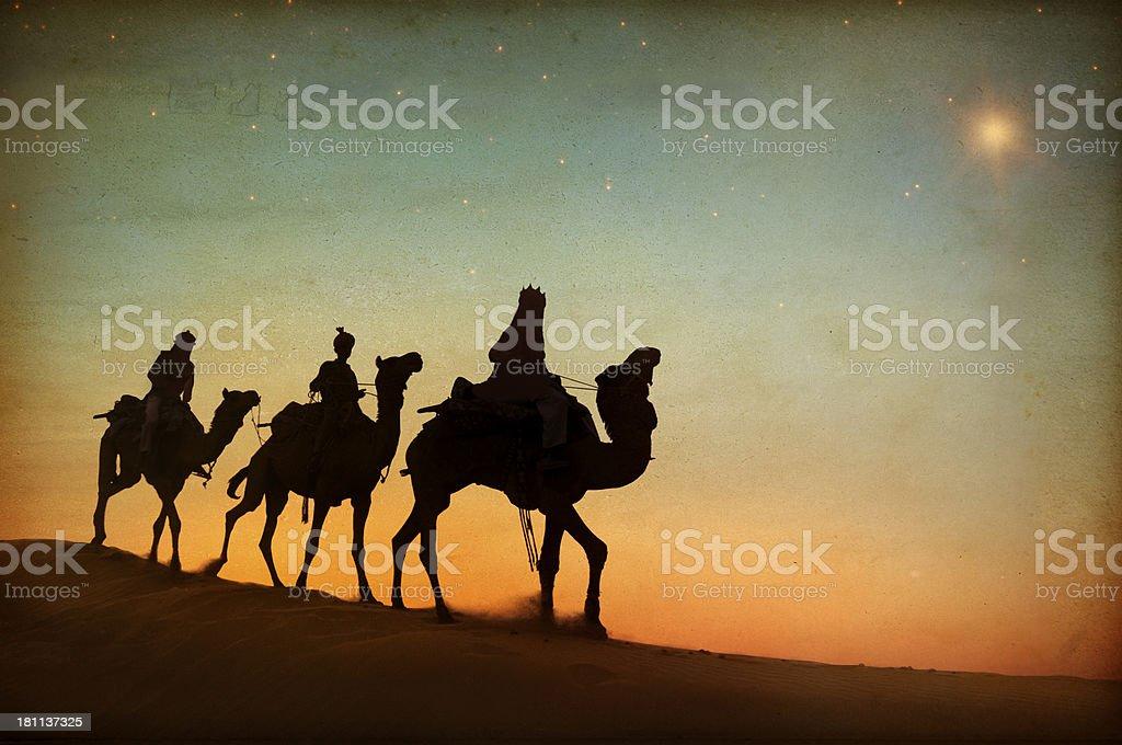 Three Wise Men stock photo