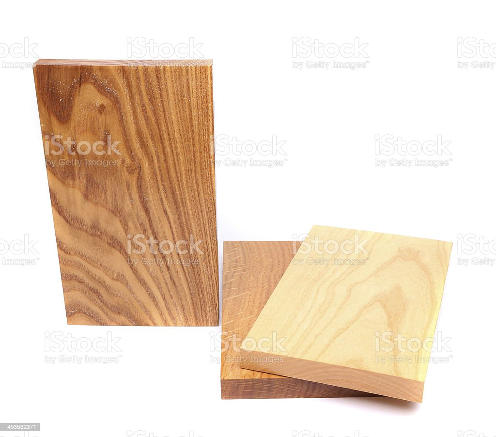 Three wooden plank royalty-free stock photo