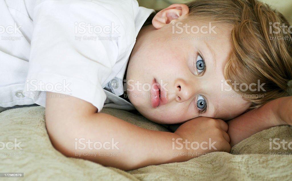 Three year old little boy royalty-free stock photo