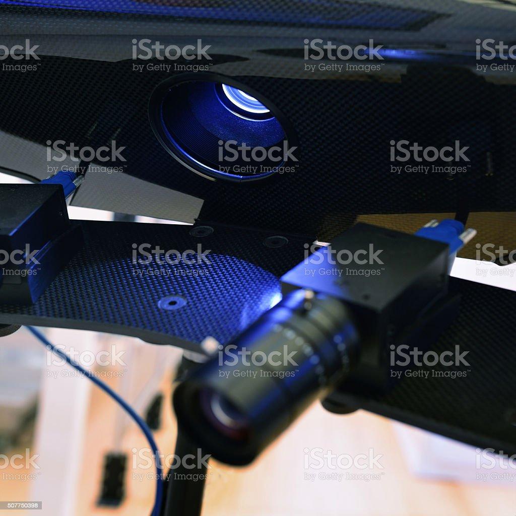 Three-dimensional Scanning stock photo