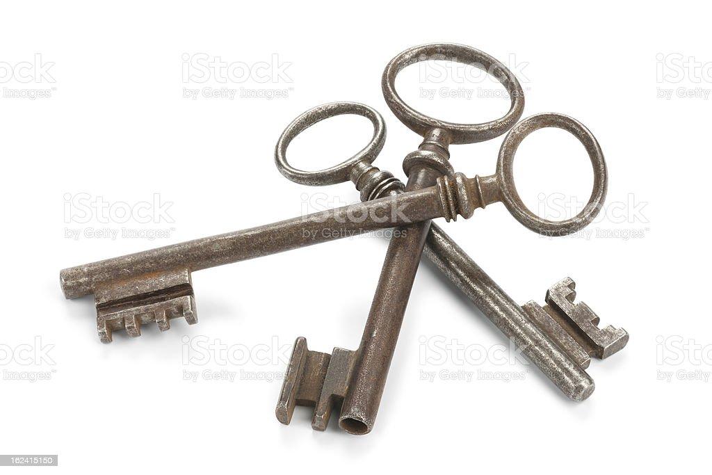 Threesome Of Keys royalty-free stock photo
