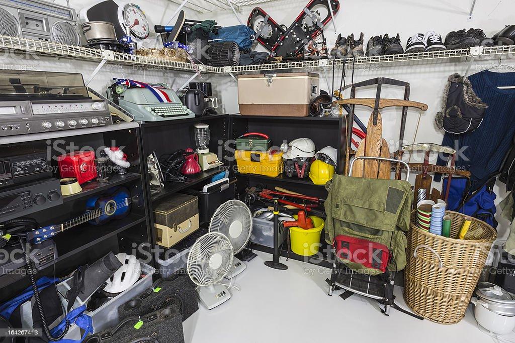 Thrift Store Garage Sale Merchandise stock photo