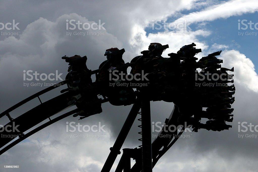 Thrill Ride 3 stock photo