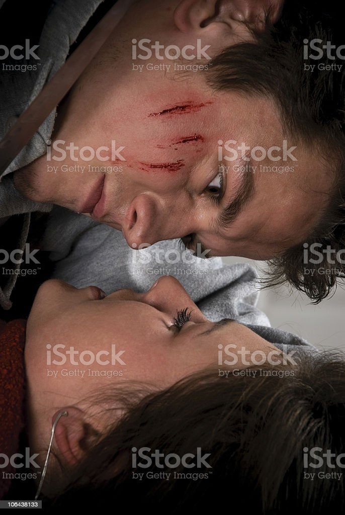 Thriller style series. royalty-free stock photo