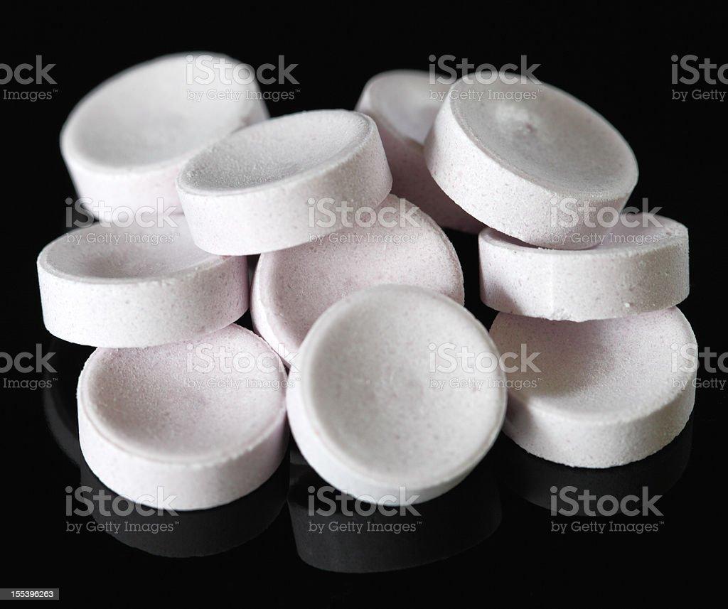 throat lozenges stock photo