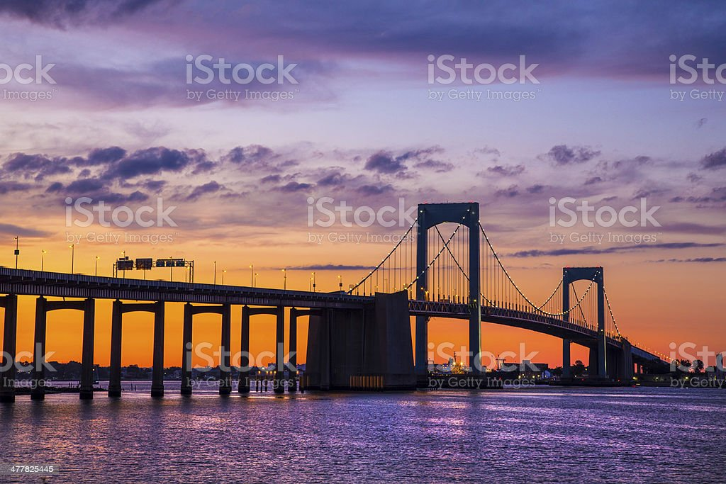Throgs Neck NYC stock photo