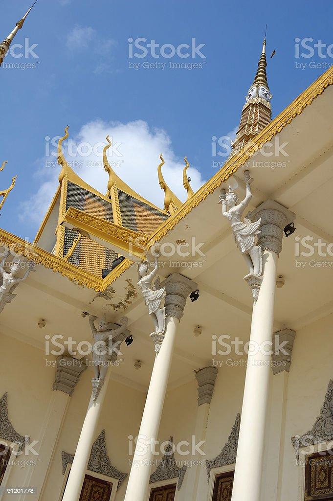 Throne hall(part) stock photo