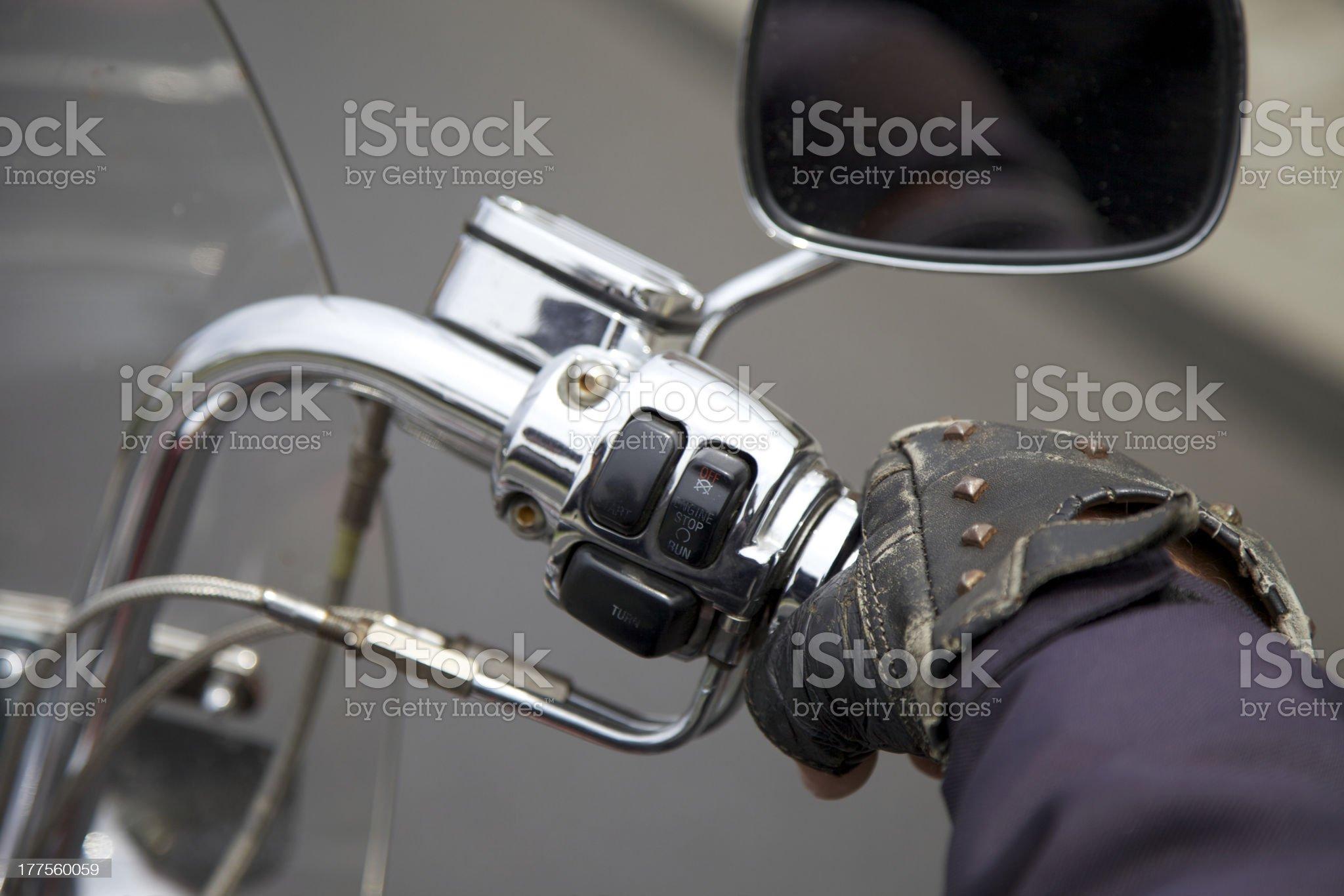 throttle control royalty-free stock photo