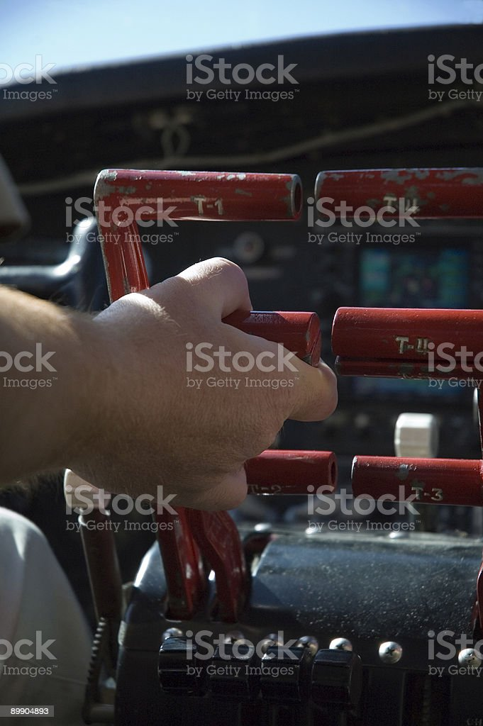 Throttle it up. royalty-free stock photo
