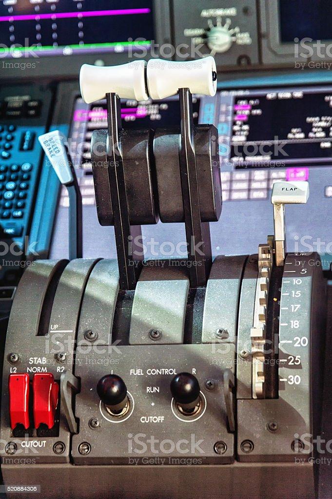 Throttle stock photo