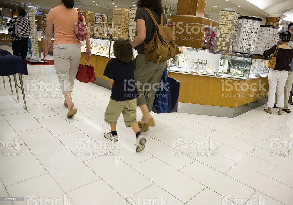 Through Department Store royalty-free stock photo