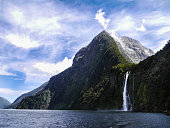 Through the beautiful Fjords of Milford Sound
