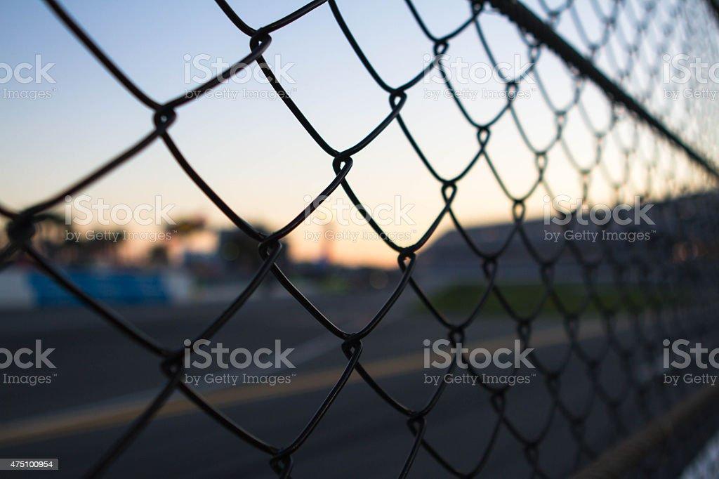 Through The Fence stock photo