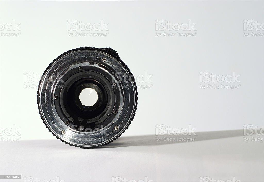 through the lens royalty-free stock photo