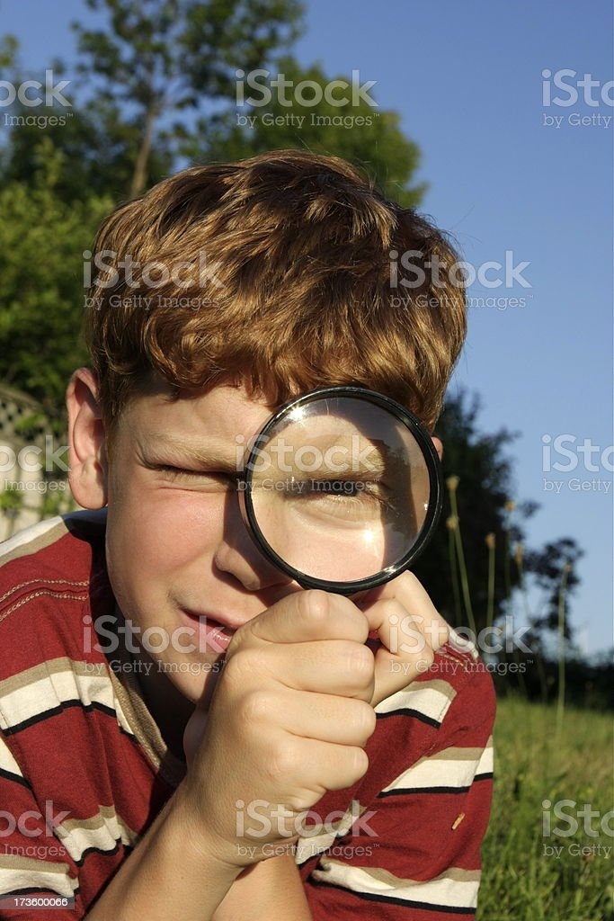 Through the Looking Glass royalty-free stock photo