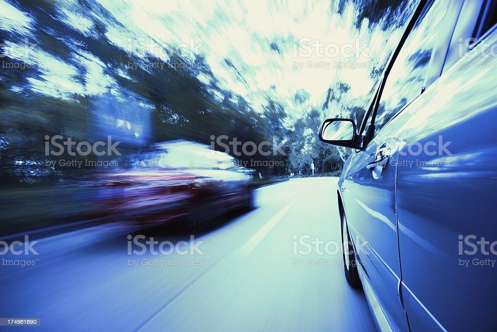 Through the road royalty-free stock photo
