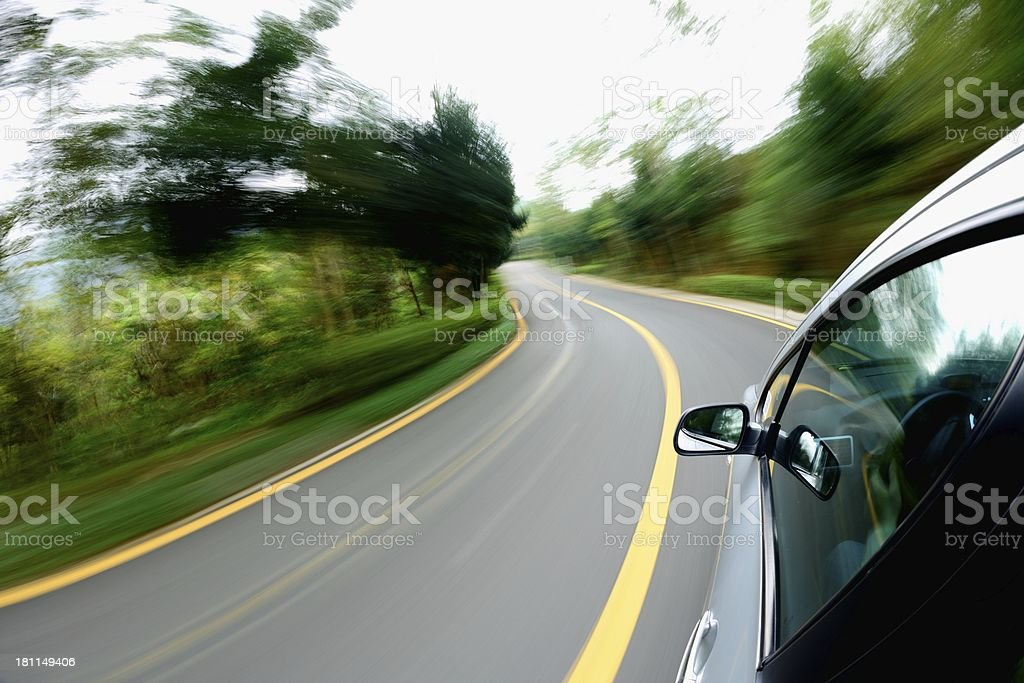 Through the road royalty-free stock photo