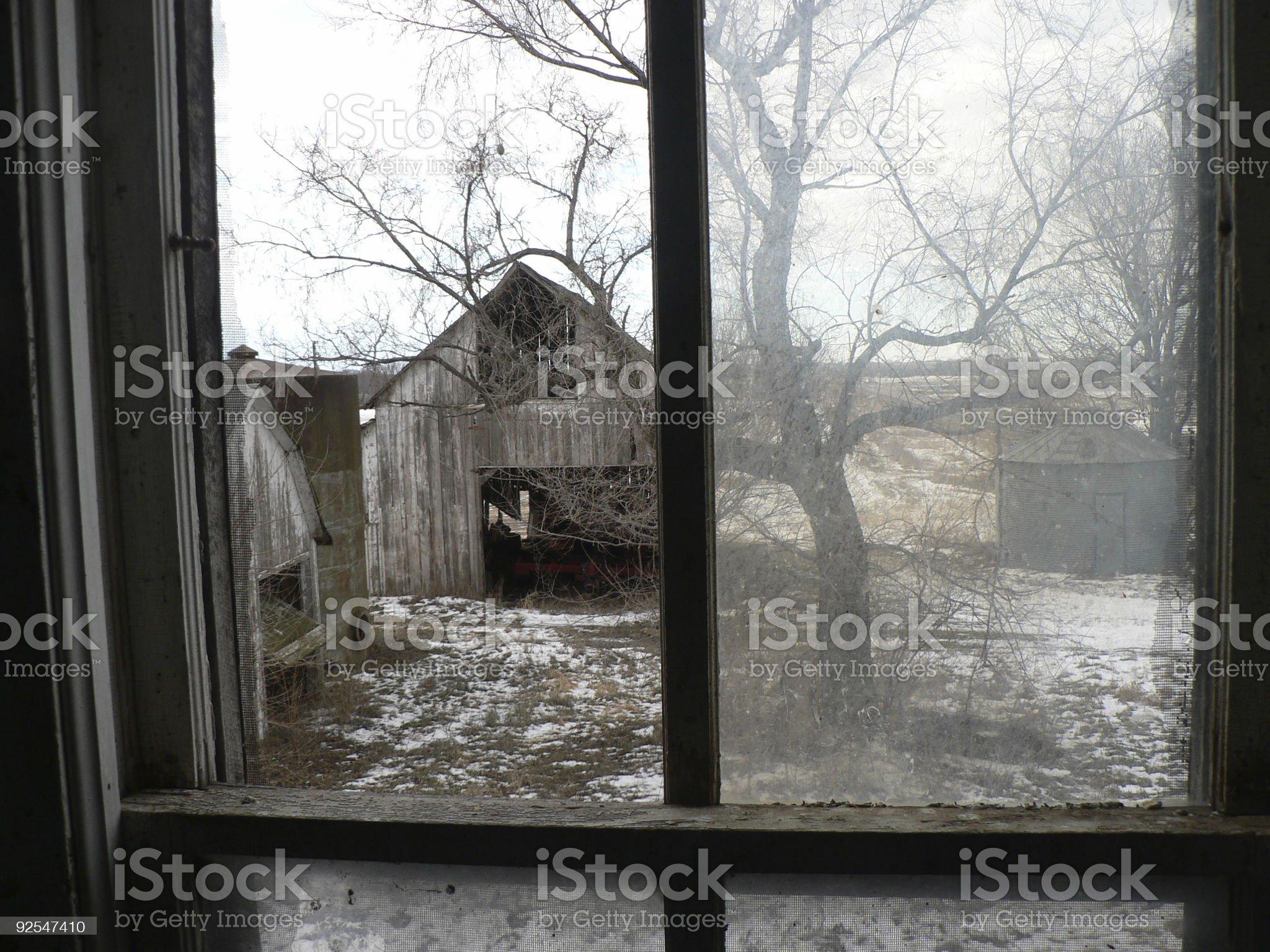 Through The Window royalty-free stock photo