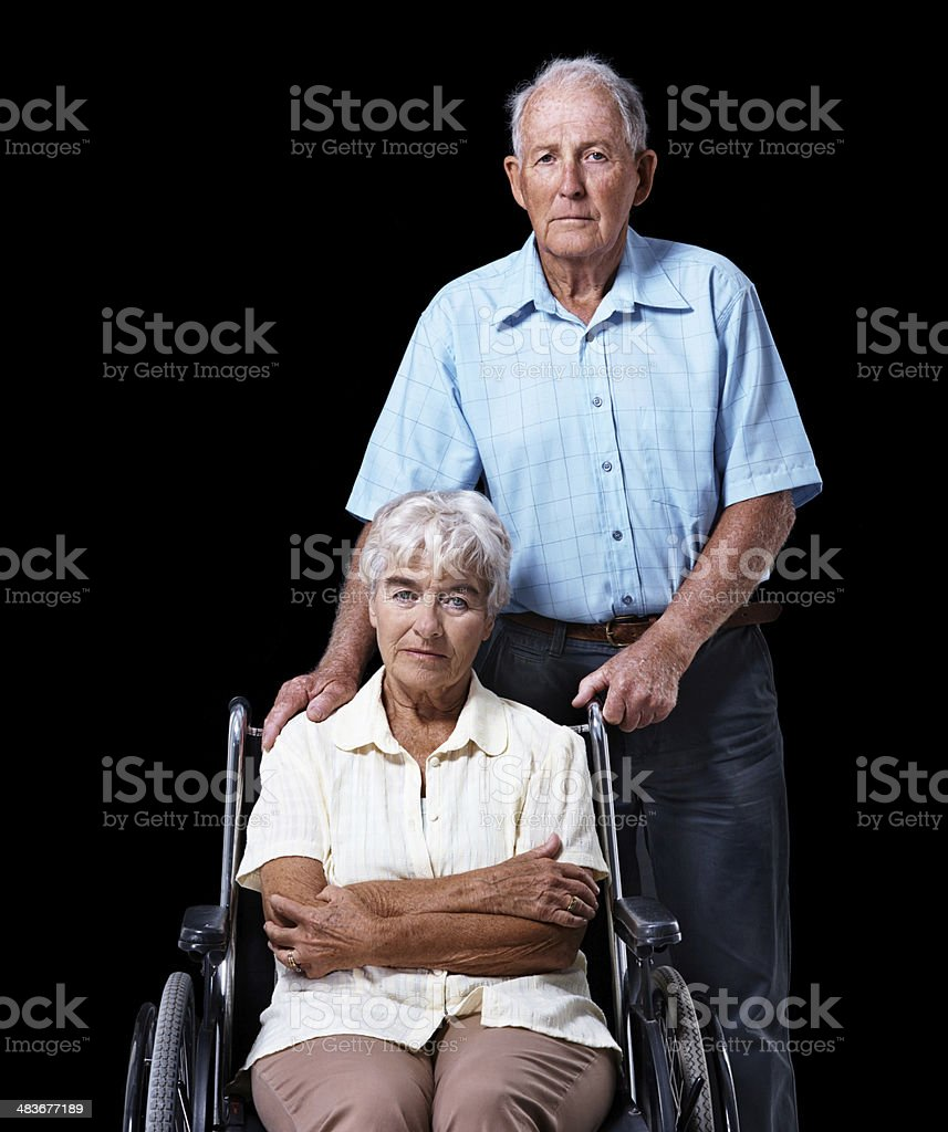 Through thick and thin royalty-free stock photo