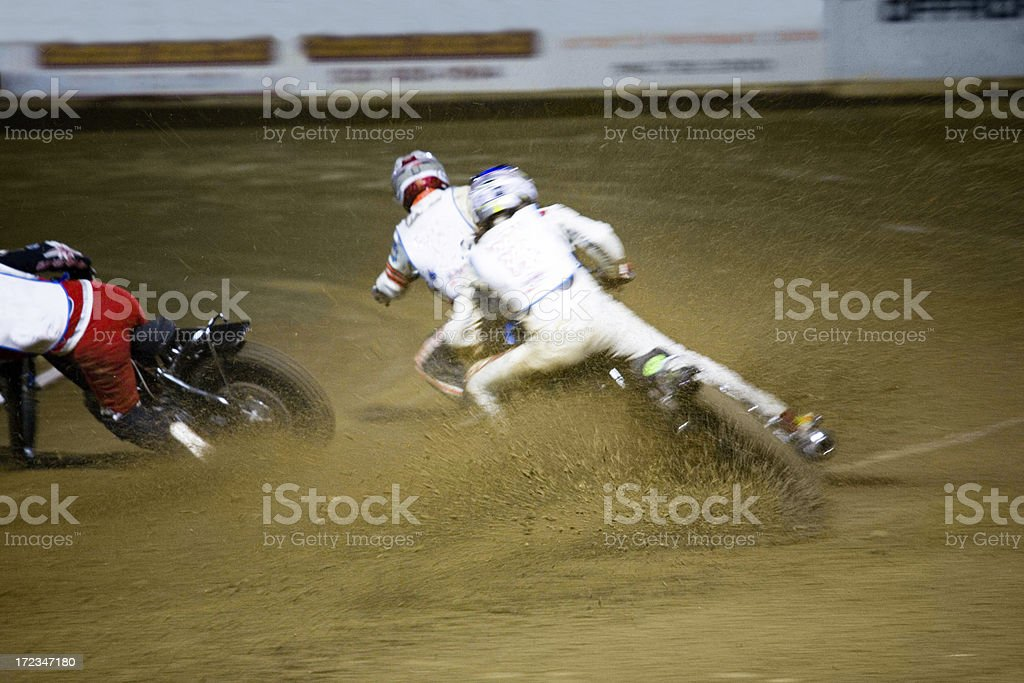 Throwing Dirt royalty-free stock photo