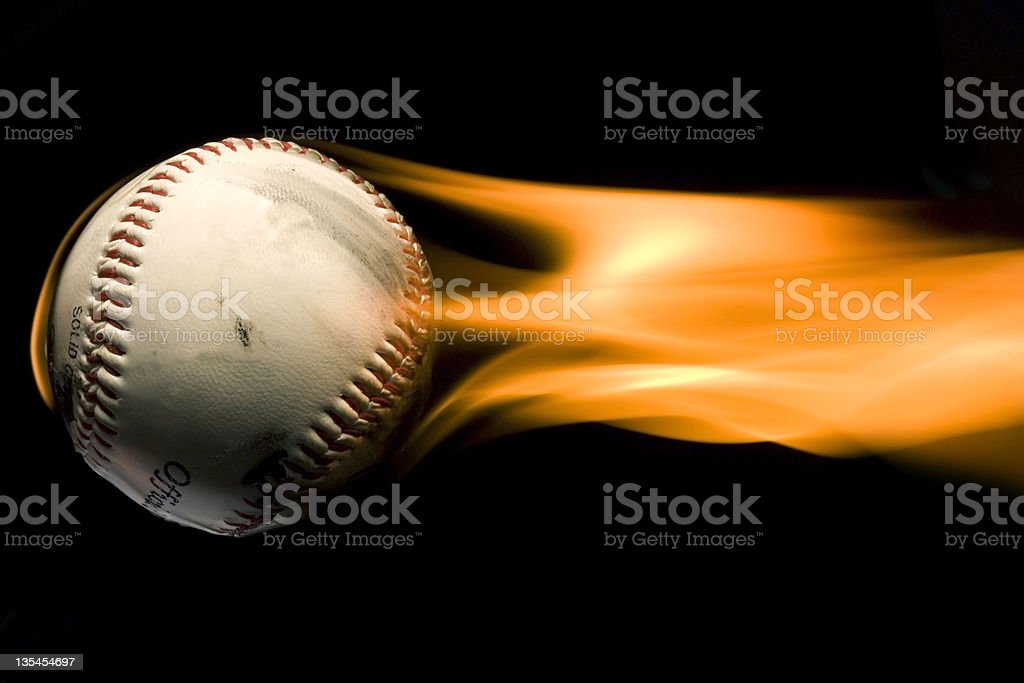 throwing heat stock photo