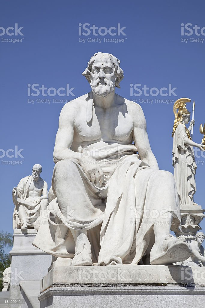 Thucydides stock photo