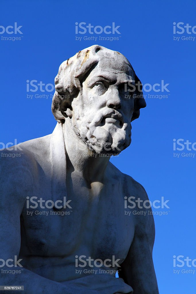 Thucydides the Scholar stock photo