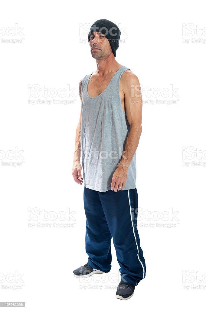 Thug life stock photo
