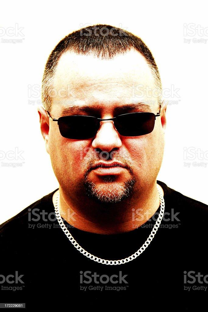 Thug royalty-free stock photo