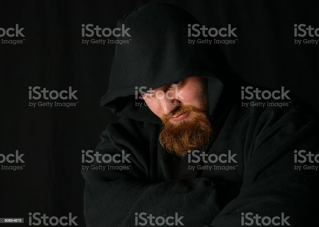 thug stock photo