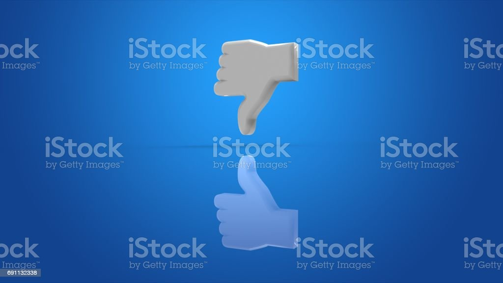 Thumb stock photo