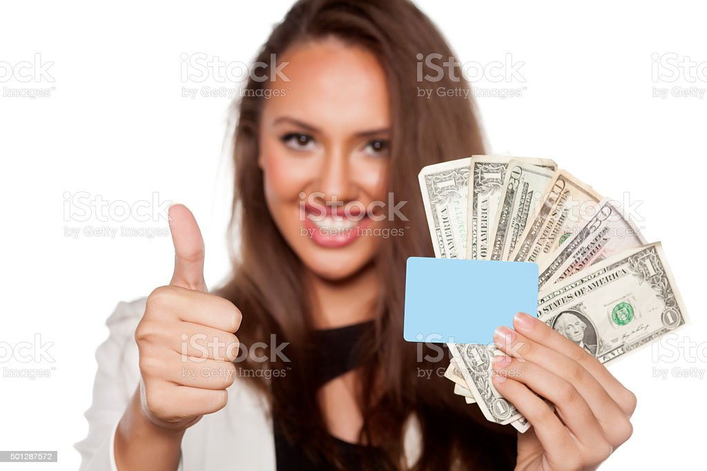 thumb up for success stock photo