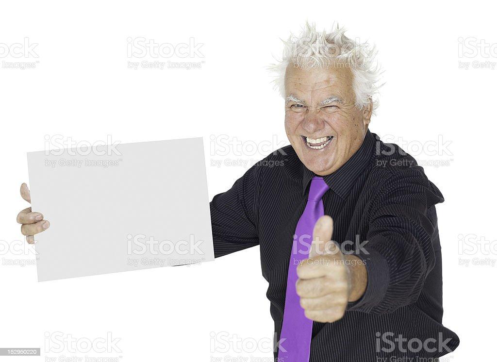 Thumb up! royalty-free stock photo