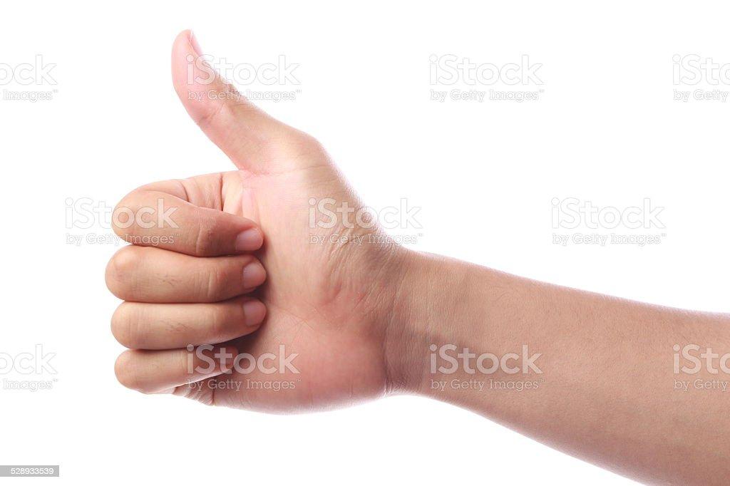 Thumb Up stock photo