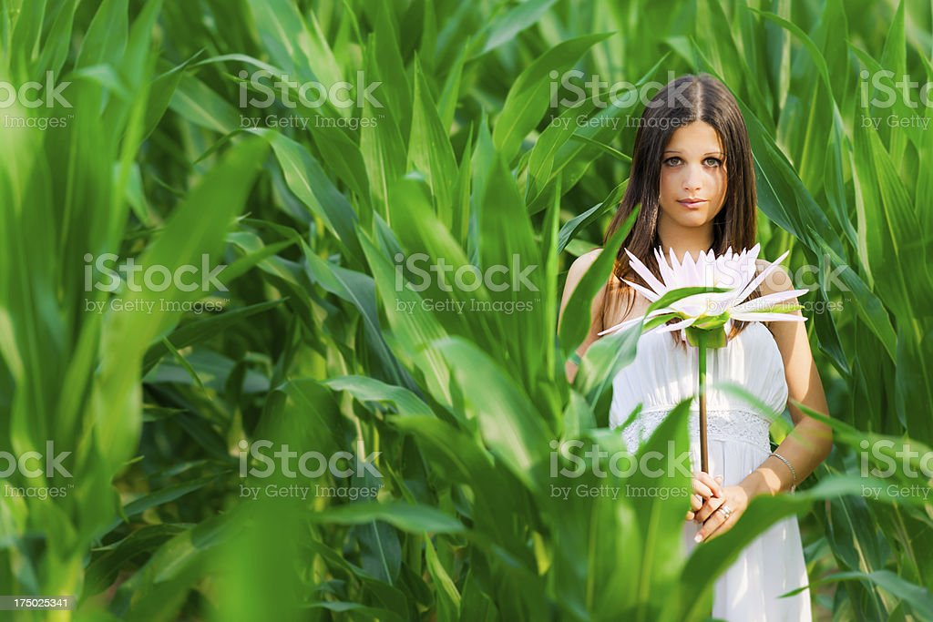 Thumbelina stock photo