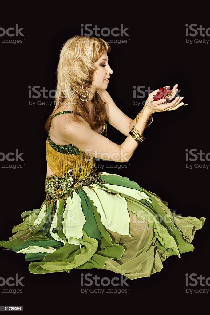 Thumbelina. stock photo