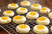 Thumbprint Cookies with Lemon Curd