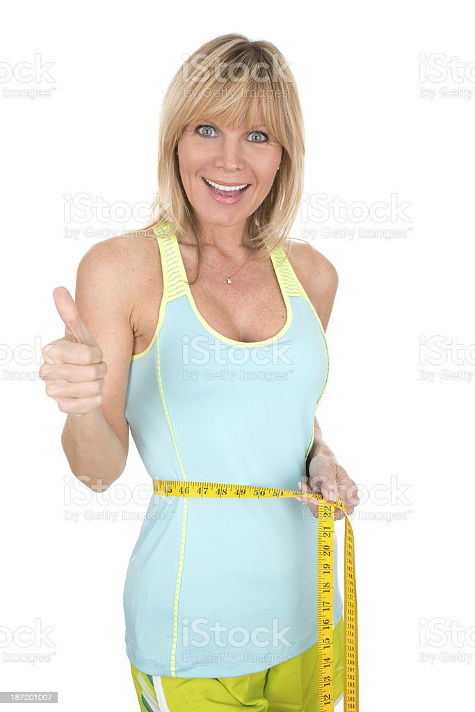 thumbs up fitness royalty-free stock photo